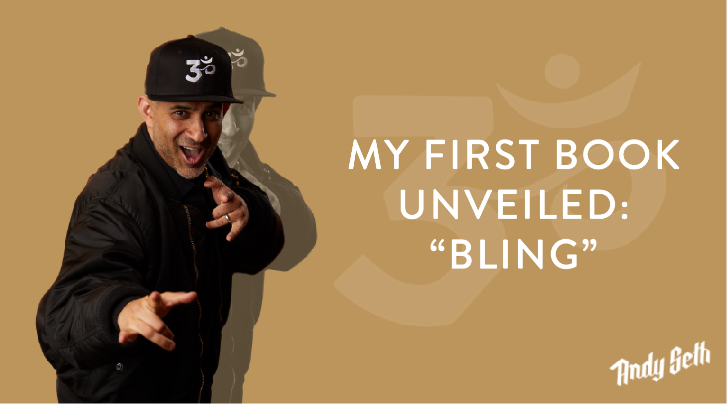 "My First Book Unveiled: ""Bling"""